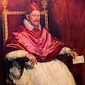 Pope Innocent X by Peter Barritt