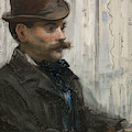 Portrait Of Alphonse Maureau by Edouard Manet