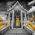 Pranburi Temple by Adrian Evans