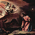 Prayer Of Christ On The Mount Of Olives  by Sebastiano Ricci