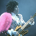 Prince Live In La by Michael Ochs Archives