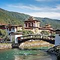 Punakha Dzong by Scott Kemper