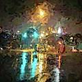 Rainy Night In Charlotte by Stefan Duncan