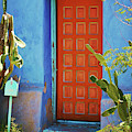 Red Door Adobe by Richard Jenkins