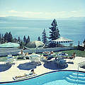 Relaxing At Lake Tahoe by Slim Aarons