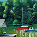 Severn River Afternoon by Linda Anderson