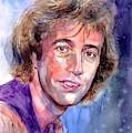 Robin Gibb Portrait by Suzann Sines