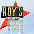 Roy's Motel And Cafe Route 66 by Kyle Hanson