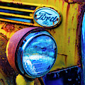Rusting Yellow Ford by Garry Gay
