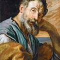 Saint Peter Repenting  by Domenico Fetti