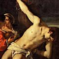 Saint Sebastian  by Orazio Gentileschi