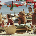 Saint-tropez Beach by Slim Aarons