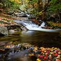 Sandwich Notch Road Waterfall New Hampshire by Jeff Folger