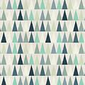 Seamless Geometric Pattern On Paper by Irtsya