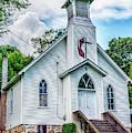Seebert United Methodist Church by Thomas R Fletcher