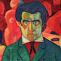 Self Portrait, 1910 by Kazimir Malevich