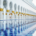 Sheikh Zayed Grand Mosque by Nicole Young
