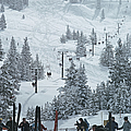Skiing In Vail by Slim Aarons