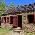 Slave Quarters At Boone Hall Plantation In South Carolina by Jill Lang