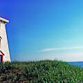 Souris Lightstation Prince Edward Island by Thomas R Fletcher