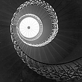 Spiral Stairwell by Raymond Kleboe