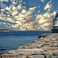 Spring Point Ledge Lighthouse by Anthony Dezenzio