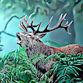 Stag by Russ Carts