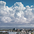 Storm Clouds Over Westport, Wa by Lost River Photography