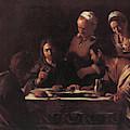 Supper At Emmaus  by Michelangelo Caravaggio