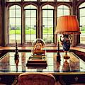 table in Leeds Castle, Kent by Ariadna De Raadt
