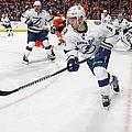 Tampa Bay Lightning V Philadelphia by Len Redkoles