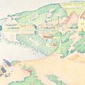The Andelys by Paul Signac