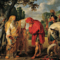 The Consecration Of Decius Mus        by Peter Paul Rubens