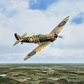 The Duxford Spitfire by J Biggadike
