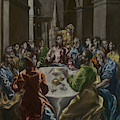 The Feast In The House Of Simon by El Greco