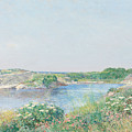 The Little Pond, Appledore by Childe Hassam