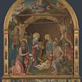The Nativity With Saints Altarpiece  by Pietro Orioli