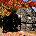 The Salem Massachusetts  Witch House by Jeff Folger