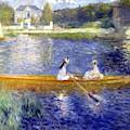 The Skiff  La Yole   by Pierre Auguste Renoir