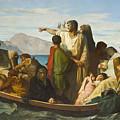 Tiberius Exiles  by Felix Joseph Barrias
