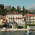 Town In The Shore Of Lake Como by Guillermo Lizondo