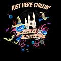 tshirt Just Here Chillin invert by Kaylin Watchorn