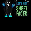 tshirt Lets Get Sheet Faced invert by Kaylin Watchorn