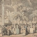 Vauxhall Gardens by Thomas Rowlandson
