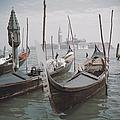 Venice Gondolas by Slim Aarons