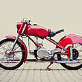 Vintage Italian Motorcycle by Thepalmer