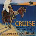 Vintage Poster -  Mediterranean Cruises by Vintage Images