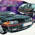 Volvo 480 Turbo by Yoshiharu Miyakawa