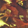 War 1896  by Bocklin Arnold
