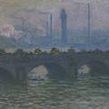 Waterloo Bridge, 1903  by Claude Monet